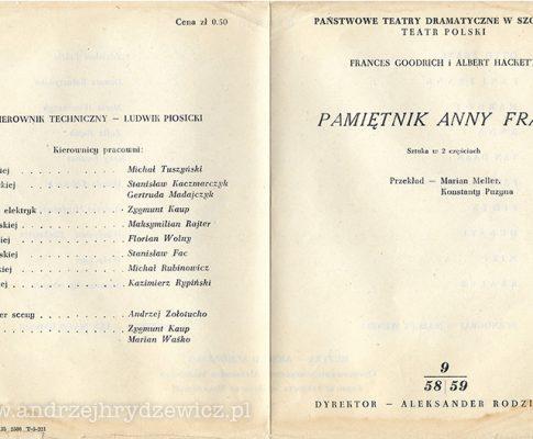 Pamiętnik Anny Frank (program)