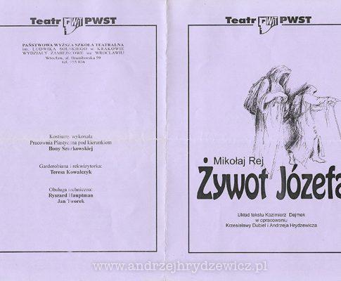 Żywot Józefa (program)